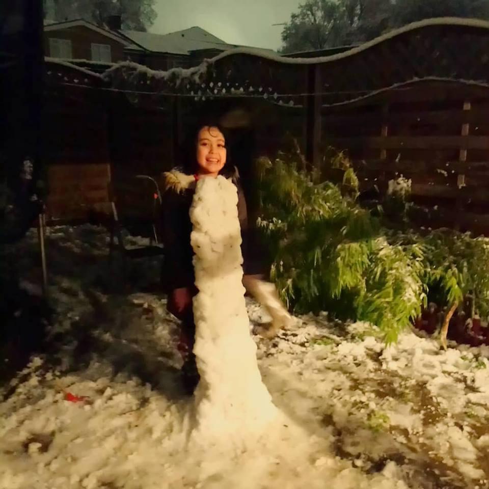 久々に雪が降る!!!  [動画]  その2_b0167736_08143073.jpg
