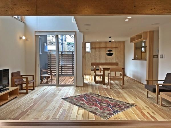 『荒川の家Ⅱの見学会準備完了_c0019551_20413163.jpg