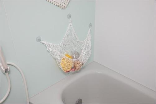 【 お風呂のおもちゃ収納におすすめハンモック 】_c0199166_11294985.jpg