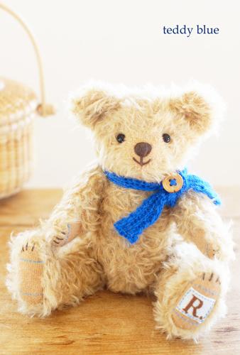teddy blue baby  テディブルーベイビー♡_e0253364_00350288.jpg