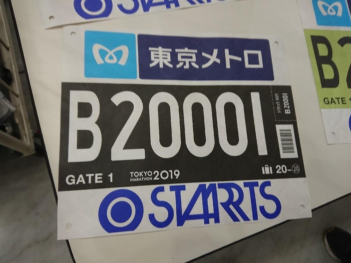 東京マラソン2019 スタートブロック 入場ゲートボランティア_c0100865_07060996.jpg