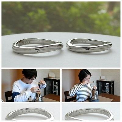 工房オリジナルの結婚指輪 セミオーダー | 岡山_d0237570_15173261.jpg