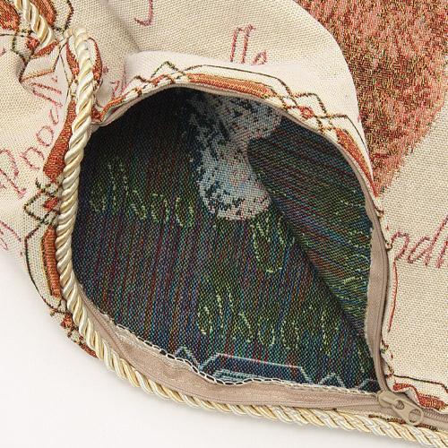 かわいらしいペット柄のジャカード織りクッションカバーご紹介~❤_f0029571_15041210.jpg