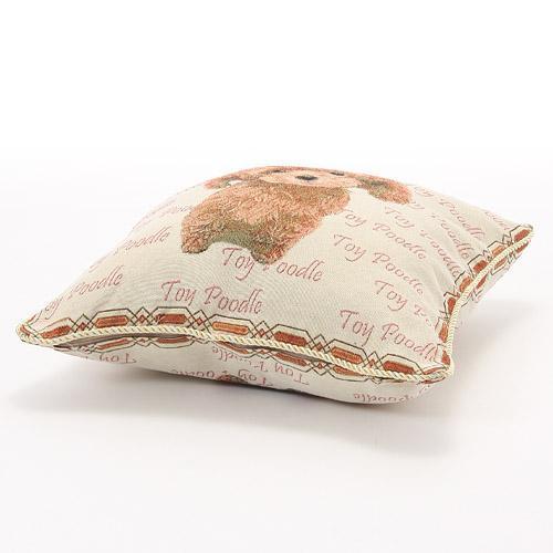 かわいらしいペット柄のジャカード織りクッションカバーご紹介~❤_f0029571_15130025.jpg