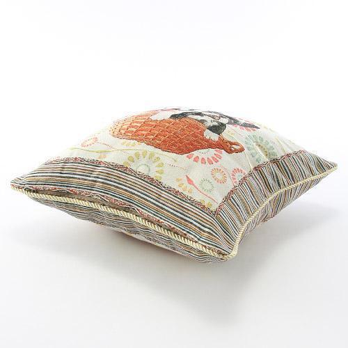 かわいらしいペット柄のジャカード織りクッションカバーご紹介~❤_f0029571_15290225.jpg