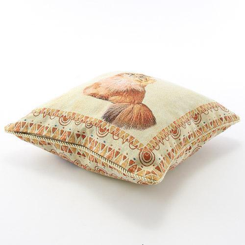 かわいらしいペット柄のジャカード織りクッションカバーご紹介~❤_f0029571_15342868.jpg