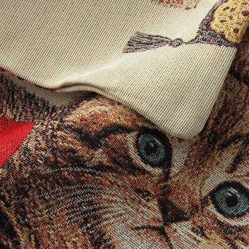 かわいらしいペット柄のジャカード織りクッションカバーご紹介~❤_f0029571_15410025.jpg
