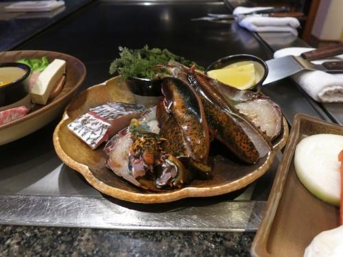 2019年1月 ブセナテラス 鉄板焼レストラン「龍潭」_f0299682_14564003.jpg