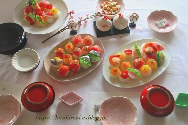 お雛祭り…_f0374092_21574406.jpg
