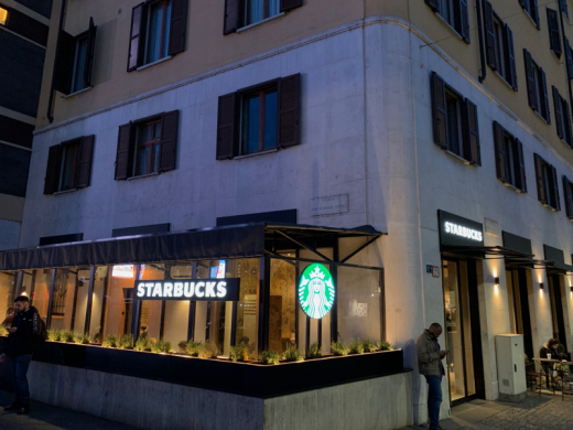 I\'ve visiting STARBUCKS in Milano first time_c0128818_02443481.jpg