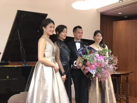 OTTAVA Night 長井進之介様コンサートへ 香りの花束を_a0042928_14121037.jpeg