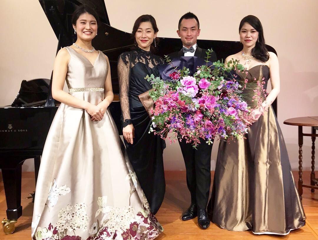 OTTAVA Night 長井進之介様コンサートへ 香りの花束を_a0042928_14121190.jpeg