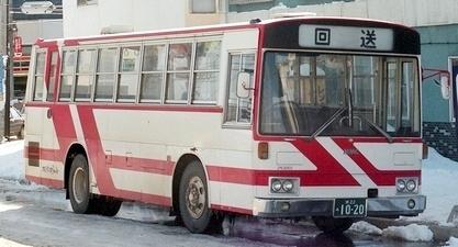 ふらのバス 三菱P-MM116H +呉羽_e0030537_17312107.jpg