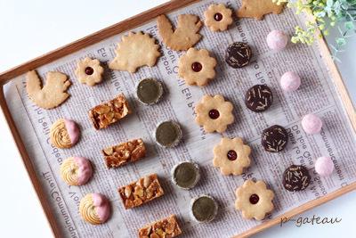 並べて楽しいクッキー作り_f0078756_19254066.jpg