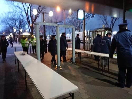 東京マラソン2019 スタートブロック 入場ゲートボランティア_c0100865_18042106.jpg