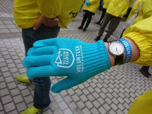 東京マラソン2019 スタートブロック 入場ゲートボランティア_c0100865_18082727.jpg