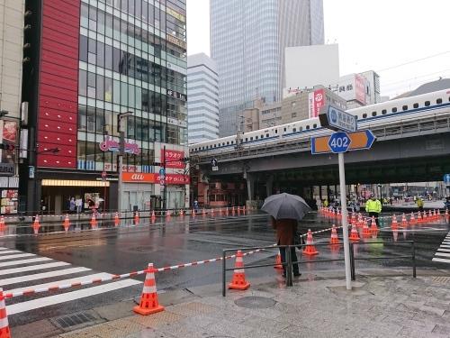 東京マラソン2019 ボランティア終了後は、朝ご飯と、応援!_c0100865_18101088.jpg