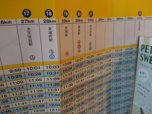 東京マラソン2019 ボランティア終了後は、朝ご飯と、応援!_c0100865_18111369.jpg