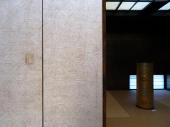 池田和広金唐紙展に行きました。_c0195909_14150843.jpg