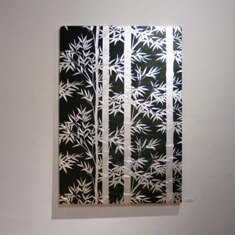 池田和広金唐紙展に行きました。_c0195909_14152976.jpg