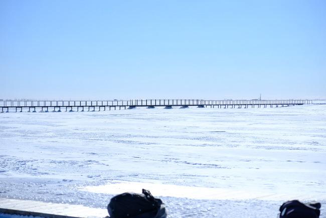 「真冬の知床羅臼根室の旅 野付半島 氷平線ウォーク」_a0000029_21365239.jpg