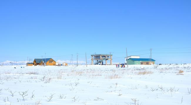 「真冬の知床羅臼根室の旅 野付半島 氷平線ウォーク」_a0000029_21440285.jpg