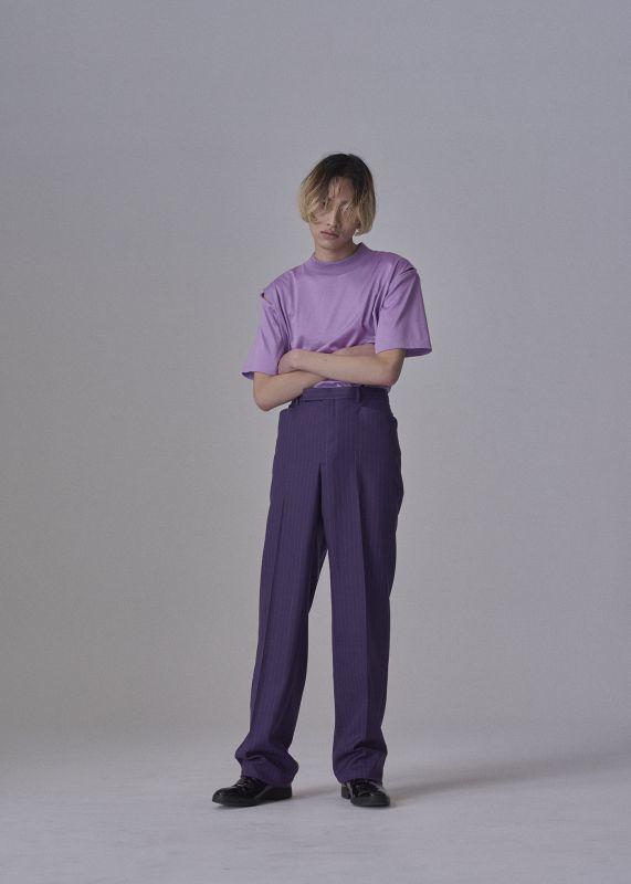 LITTLEBIG Stripe Straight Trousers_d0100143_21250122.jpg