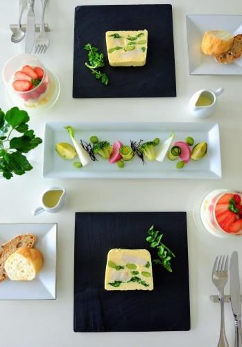 帆立と春野菜のテリーヌ_b0145846_17202060.jpg