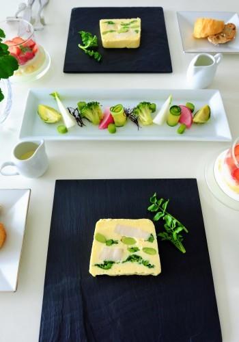 帆立と春野菜のテリーヌ_b0145846_17204300.jpg