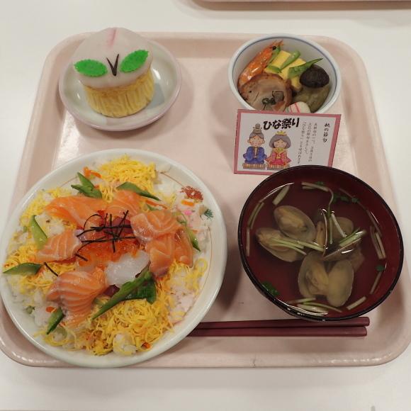 ひな祭り(行事食)🎎_a0246457_13250716.jpg
