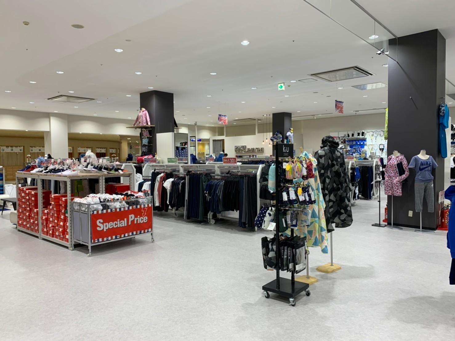 SPORTS MITSUHASHI様八尾店 現状復旧+改装工事完了!_f0300358_16390911.jpg