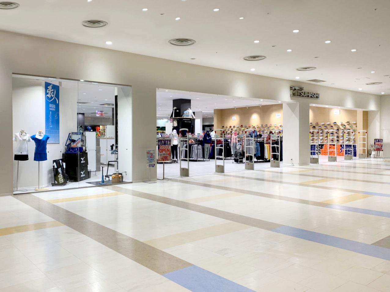 SPORTS MITSUHASHI様八尾店 現状復旧+改装工事完了!_f0300358_17452172.jpg