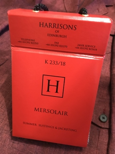 2019 春夏の新着!「HARRISONS OF EDINBURGH」 編_c0177259_20312380.jpeg