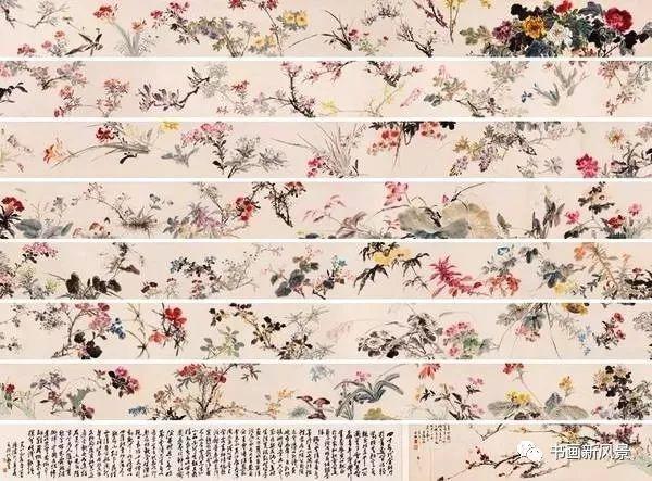 27メートルもある王雪濤画伯の「百卉図」_f0056261_14064083.jpg