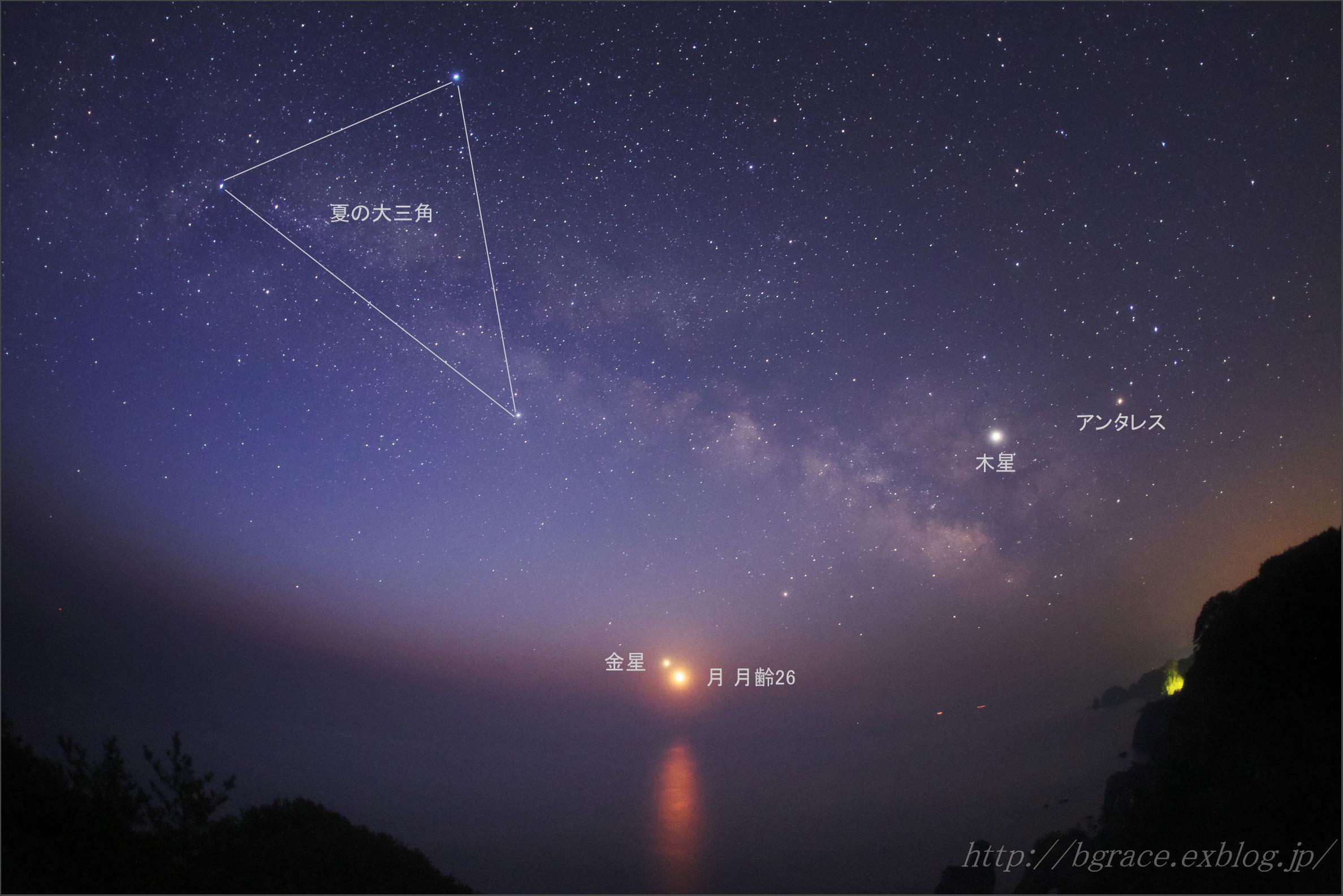 月と金星の大接近 / 夜明けの北山崎_b0191074_21340976.jpg
