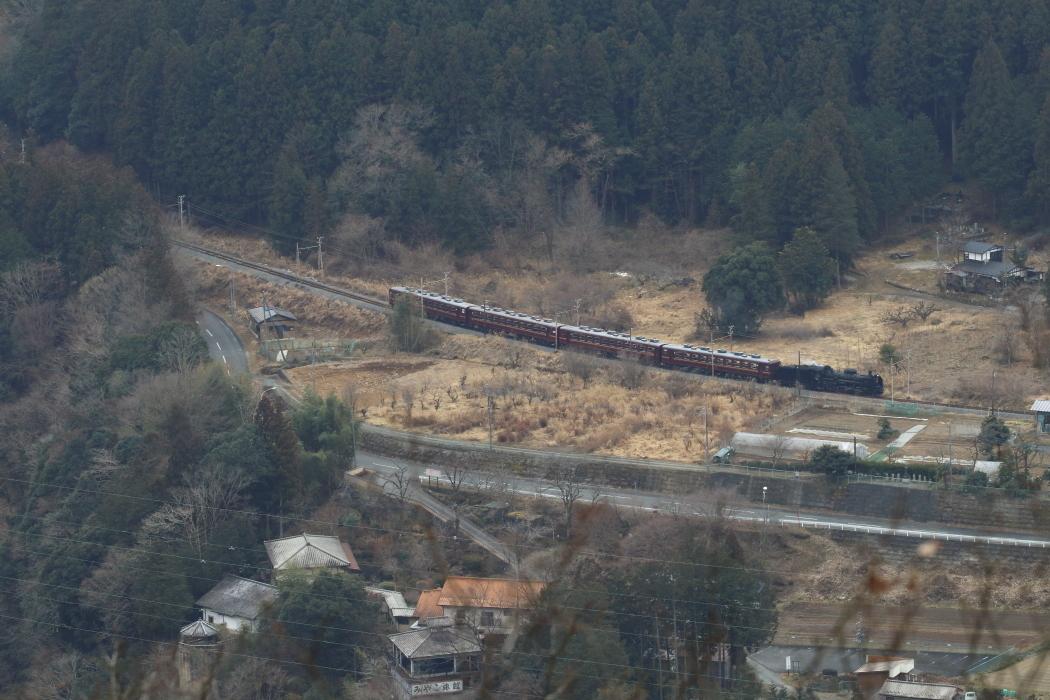 汽車が冬枯れの里に降りてきた - 2019年冬・秩父 -_b0190710_23273891.jpg