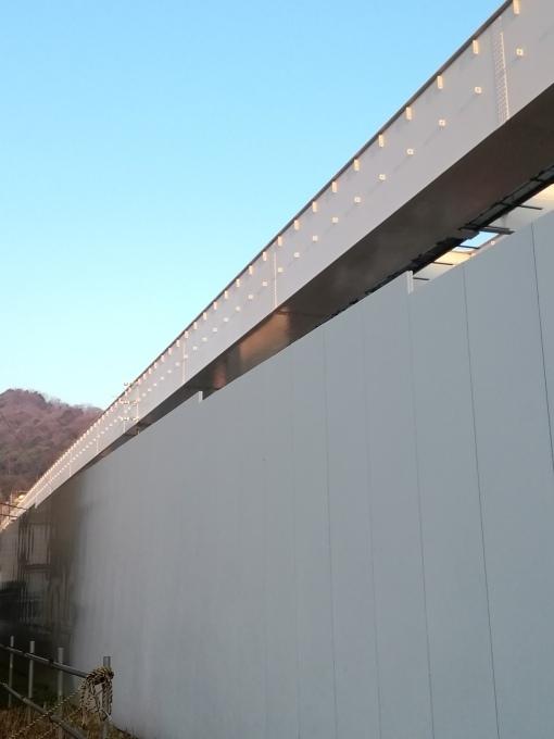 3月5日はやや寒い晴れの朝 問題の高速5号線建設現場から_e0094315_07032002.jpg