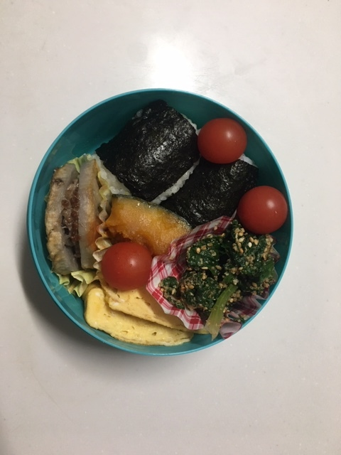 レンコンのひき肉サンド弁当_b0075817_10344392.jpg