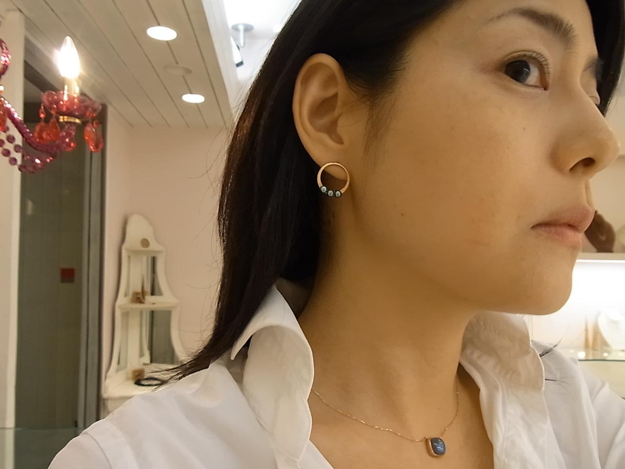 復活!女優・スタイリスト御用達 大人気 fenピアス !_c0221922_21391199.jpg