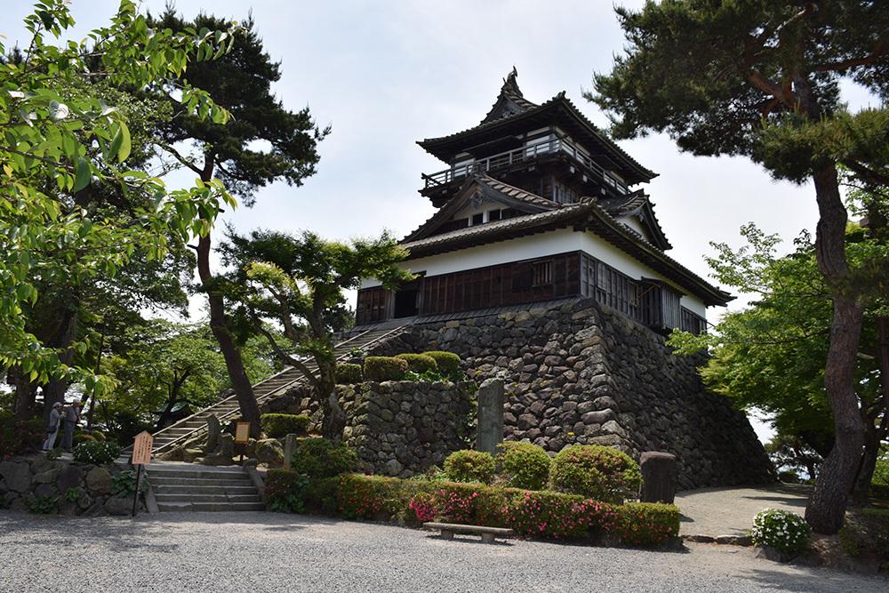 日本最古の現存天守、丸岡城を訪ねて。 その3 <本丸>_e0158128_10371345.jpg