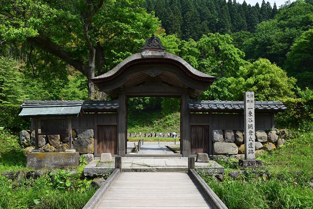 一乗谷朝倉氏遺跡を歩く。 その3 「朝倉氏館跡」_e0158128_19021685.jpg
