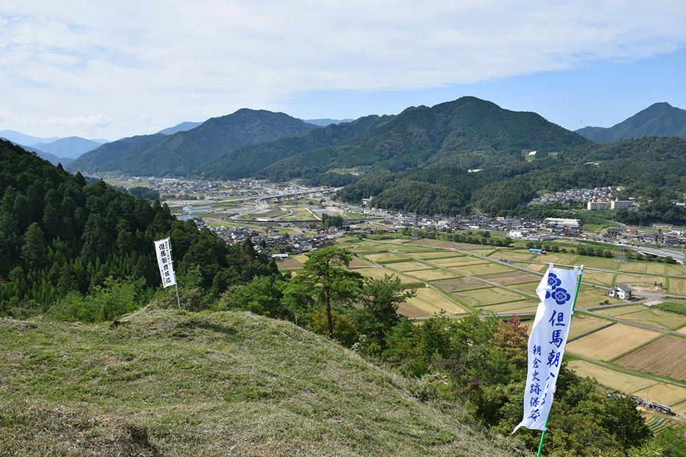 越前朝倉氏発祥の地、但馬朝倉城跡を訪ねて。_e0158128_20594856.jpg