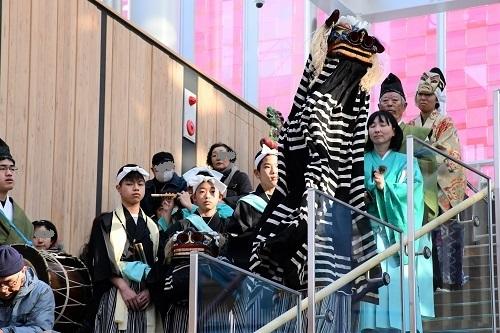 三陸国際芸術祭八戸 市川神楽_c0299631_11200283.jpg