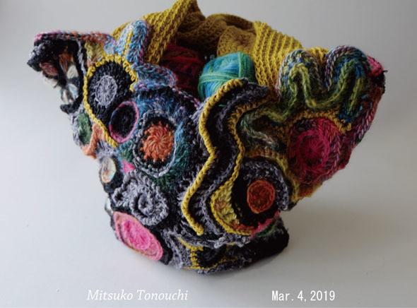 フリーフォームのバッグ     My free-form crocheting bag_b0029036_19533071.jpg