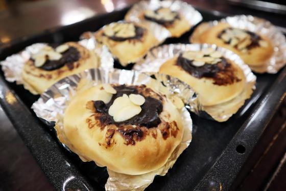 パンレク ~ チョコクリームパン ~_e0222340_1554927.jpg