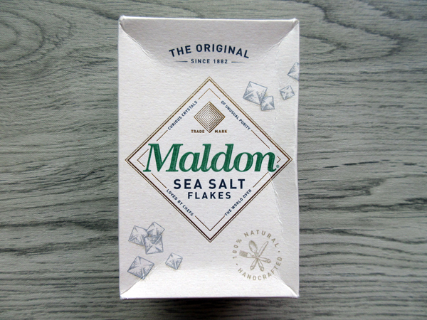 【イギリス土産】Maldon SEA SALT FLAKES_c0152767_22011650.jpg