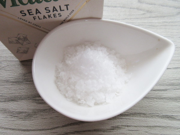【イギリス土産】Maldon SEA SALT FLAKES_c0152767_22033871.jpg