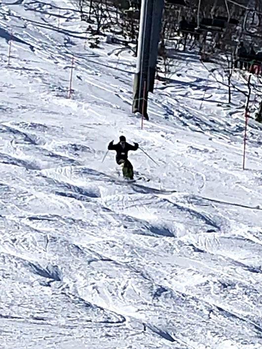 今シーズンの雪山_a0212380_16283391.jpg