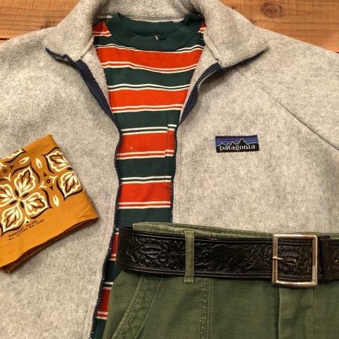 """1980s \"""" Patagonia - MADE IN U.S.A - \"""" VINTAGE raglan-sleeve FLEECE JACKET - 80s デカタグ - ._d0172088_21400355.jpg"""