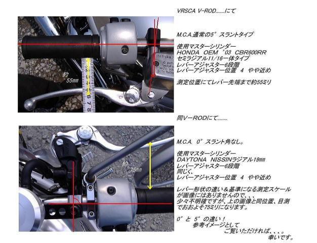 『M.C.A.』左側(油圧クラッチ)専用5°スラントタイプ_b0133126_15225549.jpg